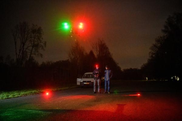 drone nachtvlucht